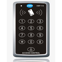Wholesale NEW RFID Proximity Door Access Control System RFID EM Keypad Access Control KHz Access Controller cards free