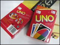 Wholesale 2015 g UNO poker card standard edition family fun entermainment board game Kids funny Puzzle game J070803 DHL