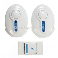 Wholesale 36 Tune Music Wireless Remote Control LED Home Entry Doorbell Door Bell Receiver