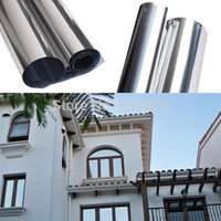 Wholesale Glass Window Film Sun Contral Window Film Anti uv GLass Stickers One way Vision for Balcony Sliding Door Household order lt no