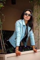 leather jackets for women - Fashion Leather Jacket Women Long Sleeved Autumn Winter Slim Zipper Jackets Female Outwear Coat Tops for Women Clothing ZG1005