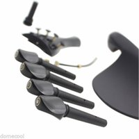 Wholesale Hot Set of Violin Accessory Kit Peg Tailpiece Fine Tuner Tailgut Endpin