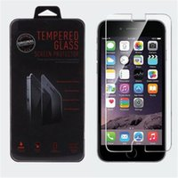 Wholesale Tempered Glass Film Premium Explosion proof Screen Protector for iPhone plus inch s s c with retail box