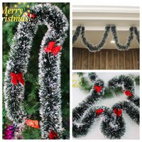 bars suppliers - Christmas Tree M Garland Long Party New Year Christmas Decoration Ornaments Madder Bar Garlands Festival Party Christmas New Years Supplier