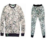 Cheap 2014 Winter Emoji 3D 100 Score Print Sweatshirts+Pants Sets Women Men Sportwear Outfit, sweat suit Hoodies+Trousers Tracksuit