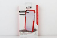 Wholesale Hot Tech Evo Mesh Case for iphone6 TPU Soft D30 Ultra Thin Back Cover TECH21 Cases with retail box up
