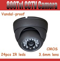 vandal proof ir dome camera - 800tvl Indoor CCTV Camera mm Lens quot HDIS Sensor Dome Camera Vandal proof security camera m IR Distance IR Cut for Better Image
