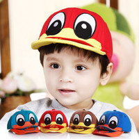 Wholesale Duck Design Baby Hat Baby Cap For Boy Girl Sun Hat Baseball Cap Kid Hat All For Child Clothing and Accessories