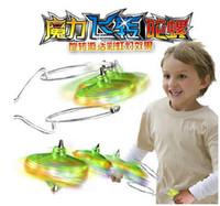 Wholesale Magnetic Gyro Wheel Magic Spin Top Toy with LED Light Kids Yo Yo Gift