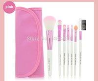 Wholesale Pink color makeup brush set cosmetics kits