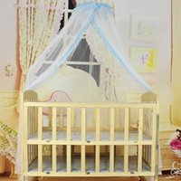 Wholesale Baby Crib Cot Insect Mosquitoes Wasps Flies Net For Infant Bed Folding Crib Netting Child Baby Mosquito Nets VT0111