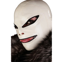 best sexy costumes - Best Latex Bondage Hoods Latex Bondage Mask with Mouth Gag Natural Latex Fetish Hoods Fantasy Sex Product for Adult Head Restraints