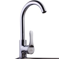 Wholesale Factory Polished Chrome Brass Degree Rotating Faucet Kitchen Faucet Basin Faucet