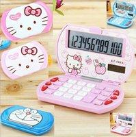 Wholesale cartoon electronic scientific calculator cute calculator high quality silicone calculator digital calculator