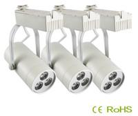 Wholesale Lighting furniture for clothing store w high power led track light V V white for clothing shop light