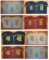 arizona state jersey - 2016 New Arizona State Sun Devils D J Foster Jersey Stitched ASU Pat Tillman Jersey NCAA College Football Jerseys