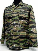 airsoft camo pants - US Airsoft Tiger Stripe Camo BDU Uniform Shirt Pant