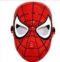 animation schools - Children Spiderman Cartoon Cute Msak Batman Masks superhero Mask Carnival Mask Halloween Costume Party animation Mask dace cosplay mask