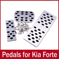 Wholesale Car Pedal Pads Cover Stainless Steel for Spectra Sportage AT