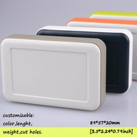 abs project box - Four colors diy electronic box for projects handheld plastic enclosure for pcb small plastic junction box abs cases mm
