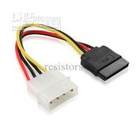 Wholesale New Pin IDE to Pin SATA HDD Power Adapter Cable lots1000