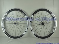 aluminum alloy rims - HED mm rim full carbon road bike wheels light weight with powerway R13 hubs Alloy Brake Surface Clincher Aluminum Wheelset