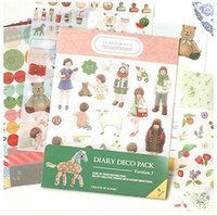 ashley fashion - Free ship set pc Ashley decorative stickers diary cartoon fashion cute stickers set pc into
