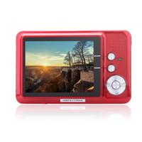 Wholesale CDFE HD Mini Digital Camera MP quot TFT x Zoom Smile Capture Anti shake Digital Video Camcorder