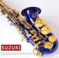 Wholesale Suzuki fall E Alto Sax Blue