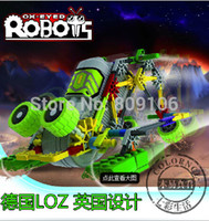 Wholesale retail small robot electric assembling building blocks puzzle hands on toys