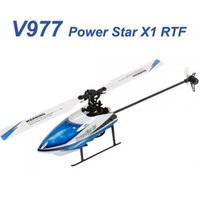 Hélicoptère gros-WLtoys V977 6CH 2.4G Brushless Flybarless RC WLtoys maître Walkera cp cp super-mini-cp 2.4GHz RC Helicopter New V977