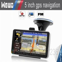 Wholesale GPS inch navigation FM DDR128MB car gps MTK MS2531 MHZ Navitel Maps Russia Ukraine Belarus Kazakhstan