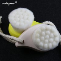 Wholesale New Facial Cleansing Brush Deep Pore Clean Face Brush Soft Fiber Face Massager Brush