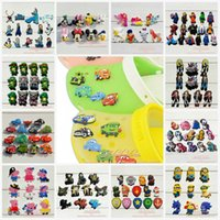 shoe charms - DHL or EMS more than styles PVC Jibbitz Shoe Charms Fit for jibbitz shoe charm decoration shoe accessories bracelets charms Party Gifts