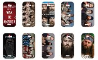 Wholesale Protective shell case for HTC One X new duck dynasty series