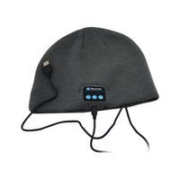 beach building - Singapore Post Wireless Bluetooth Hat Headphones Built in Stereo Speakers for Travelling and Christmas Gifts waitingyou