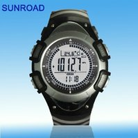 auto el backlight - 100 Brand SUNROAD Sports Watch FR8204A Altimeter Barometer Thermometer EL Backlight ASAF Free Shipiping