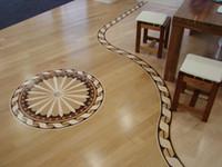 Wholesale Small box floor Mosaic Combination floor High end custom floor Design House floor Jade inlaid wood floor Shell floor Floor finishes