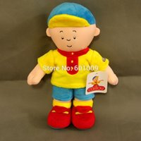 Wholesale Caillou Rosie Plush Doll - Free Shipping Caillou Rosie Plush Toy Soft Plush Stuffed Figure Toy Doll 12""