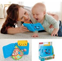 Wholesale Early education Laugh Learn Learning music Wallet toy cartoon puzzle fun Wallet book baby toy Cash In on Playtime Learning Fun