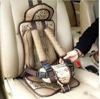Wholesale 10Pcs Thick Cotton Baby Infant Beige Car Seat Child Car Safety Cushion