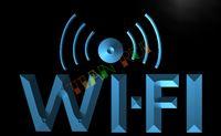 access advertising - LB572 TM Wi Fi Internet Access Cafe Shop Neon Light Sign Advertising led panel jpg