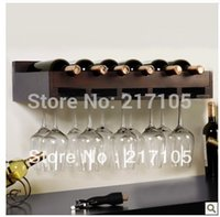 wine glass rack - wood wine rack shelf creative living room wall wine rack decorative glass shelf Continental Shelf Wine