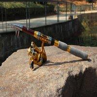 Wholesale Hot Sale M FT Telescope Fishing Rod Set AF4000 Fishing Reel Accessories Fishing Rods Line Reel Float Hooks Bell