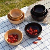 Wholesale Multipurpose Cedarwood Bowls Sets Four piece Cuisine Christmas Dinner Plates Korean Style Cooking Tool Sets MOQ Sets