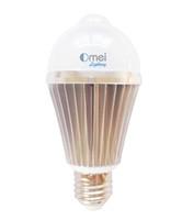 Wholesale 8 W E26 E27 Warm White LED Motion Sensor Light Bulb LED Motion Bulb Motion Activated Light