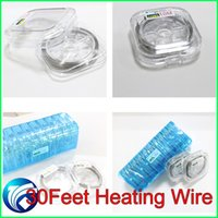 wire - Resistance Wire ml Kanthal A1 wire DIY Wire for Subtank mini Subtank nano Subtank plus Heating coil Wire DIY vape mod RDA e cigarette MOD