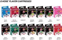 Cheap 2014 Starbuzz E Hose cartridges refillable Multi Flavor E Hose atomizer Various for Starbuzz ehose Mod 4pcs pack 14 flavours