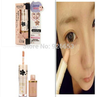 Wholesale 1Pcs New Hide Conceal Dark Circle Cream Foundation Makeup Liquid Lipgloss Concealer Stick For Womens Beauty