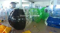 big bumpers - bigger discount PVC m bumper body bubble bumper big soccer ball with Drop